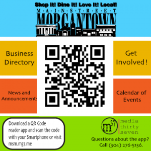 Main Street Morgantown Mobile App Link